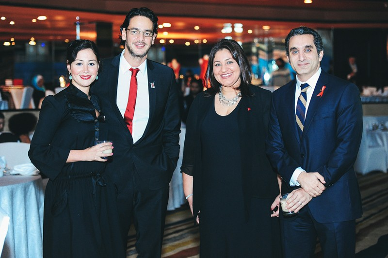 Red Gala Bringing People Together