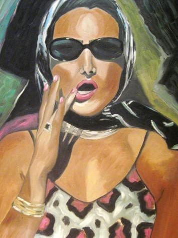 Amina Salem: Painting the Female Enigma!