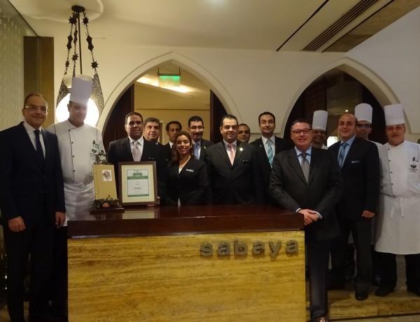 Sabaya Team with Sameh Sobhy General Manager Semiramis InterContinental Cairo