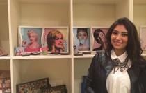 Fashion and Fondue explosion at Boho Gallery Zamalek opening!