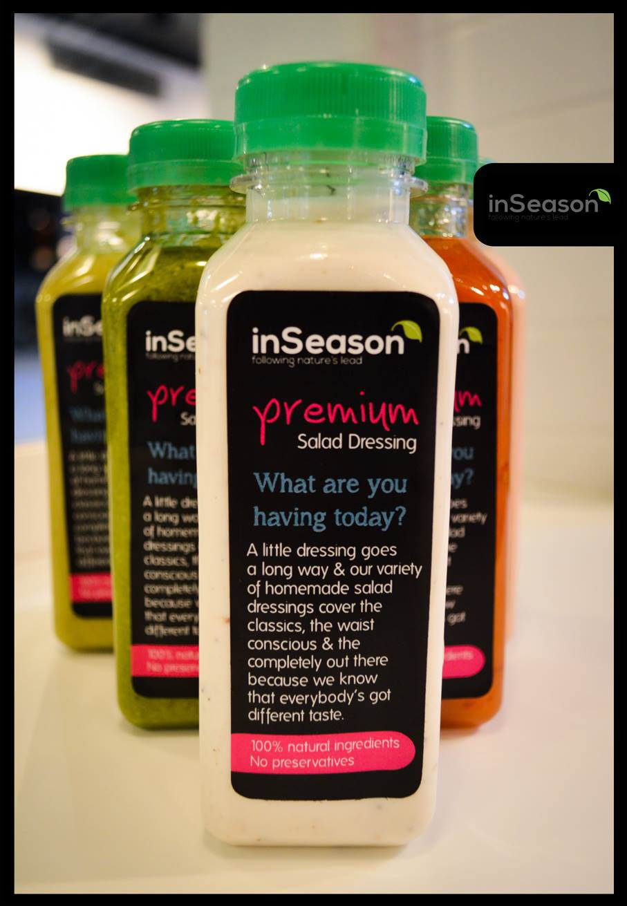 InSeason follows nature's lead and makes healthy sinfully good!