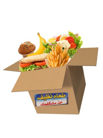 Humanity in a Box  Clean Food Boxes all Over Egypt
