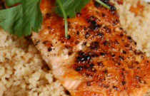 Dinner is Served: Salmon with Couscous and Leek