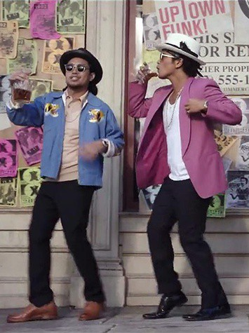 Uptown Funk by Mark Ronson Ft. Bruno Mars