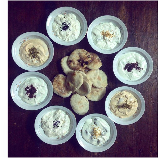 For the Love of Labneh! All that is sweet and savory.