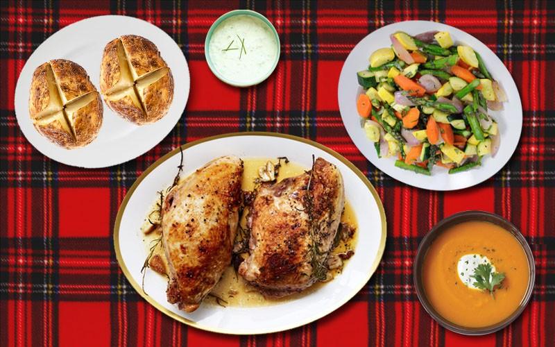 Nestle Christmas dinner 1