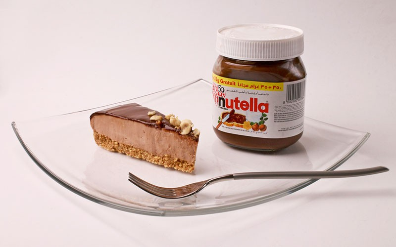 Kitchen Quickie! No-bake Nutella Cheesecake by Mido Eats