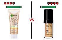Makeup Battles! BB Cream Vs Foundation!
