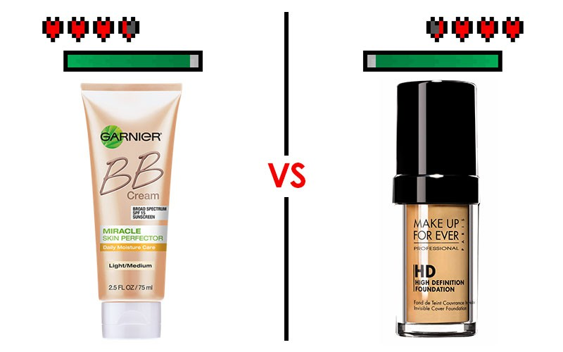 Makeup Battles! BB Cream Vs Foundation!