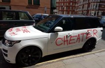 Londoner Seeks Revenge by Spray Painting her Ex's Car