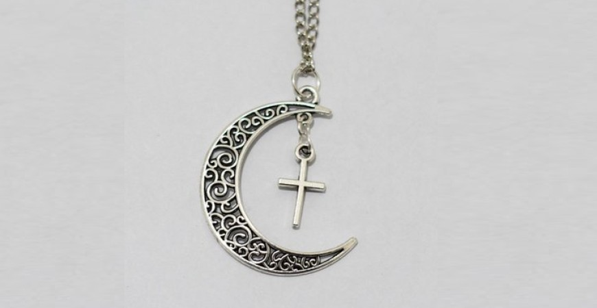 crescent and cross