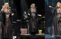 Adele in Lovely Siwa Dress Rocks the Stage and Social Media!