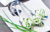Creative Recipe for your Next Dish Party! Minty Cheese Balls with Green Onions