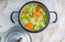 Healthy can be delicious! Enjoy this Light Vegetable Soup