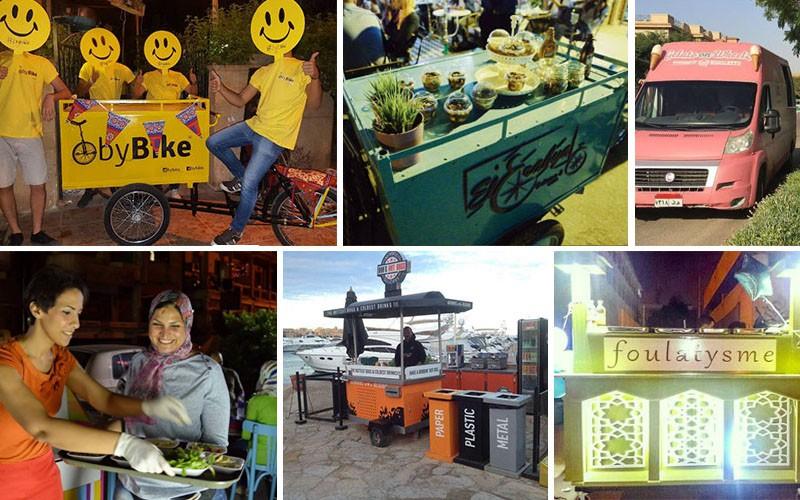 6 Trendiest Food Carts in Egypt