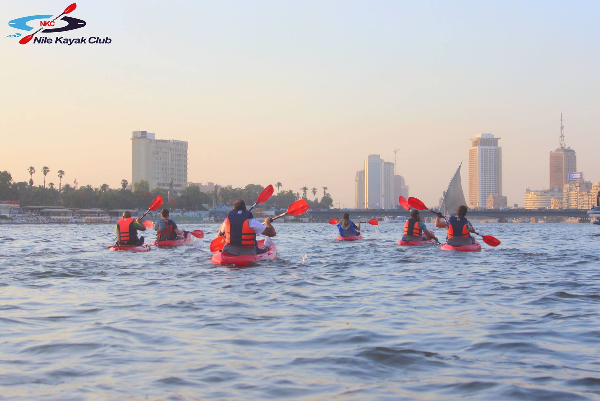2 - Kayaking on the Nile (Got their permission to use this image from their Facebook page)