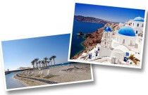 Did you know that you can have a weekend in Santorini with your Sahel Budget?