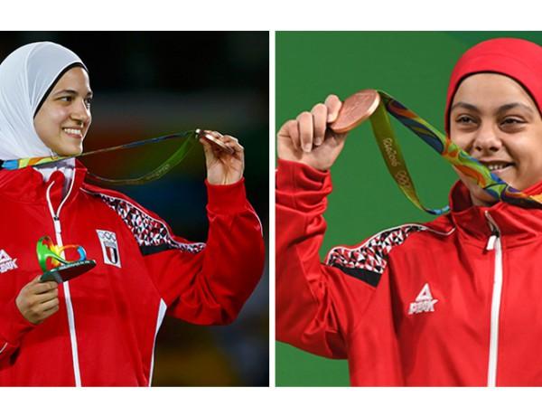 Hedaya and sara olympics