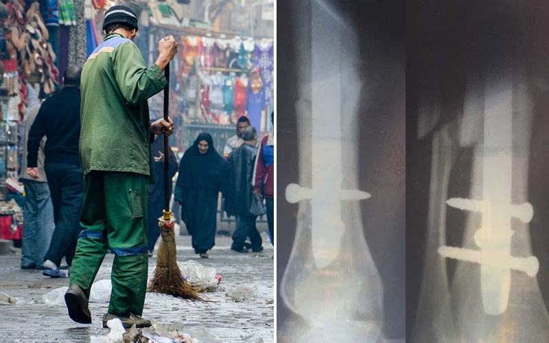 Pain Hiding in Plain Sight; The Lives of Cairo Street Cleaners