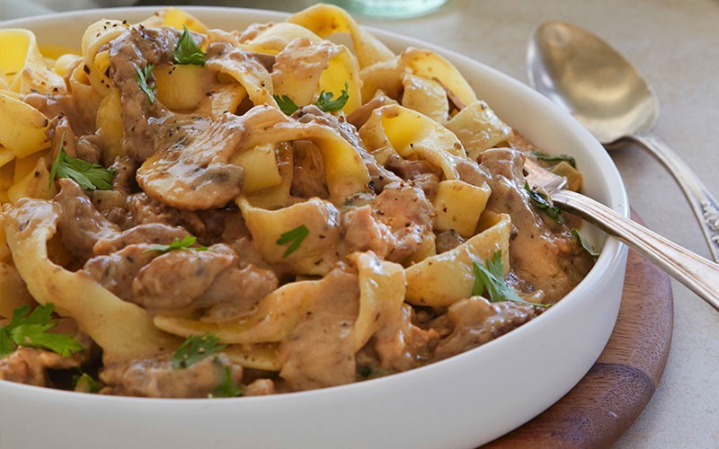 Beef Stroganoff to grab your family's immediate attention!