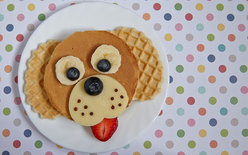 Banana Pancake is always healthier with Juhayna 4.5.6 Banana Biscuit Vanilla!