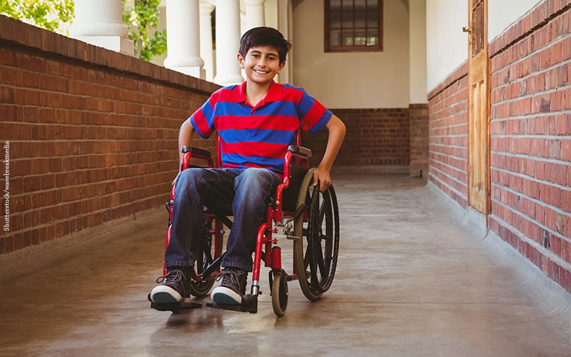 Ministry Of Education has Ensured that WheelChair Users will attend classrooms on the ground floor!
