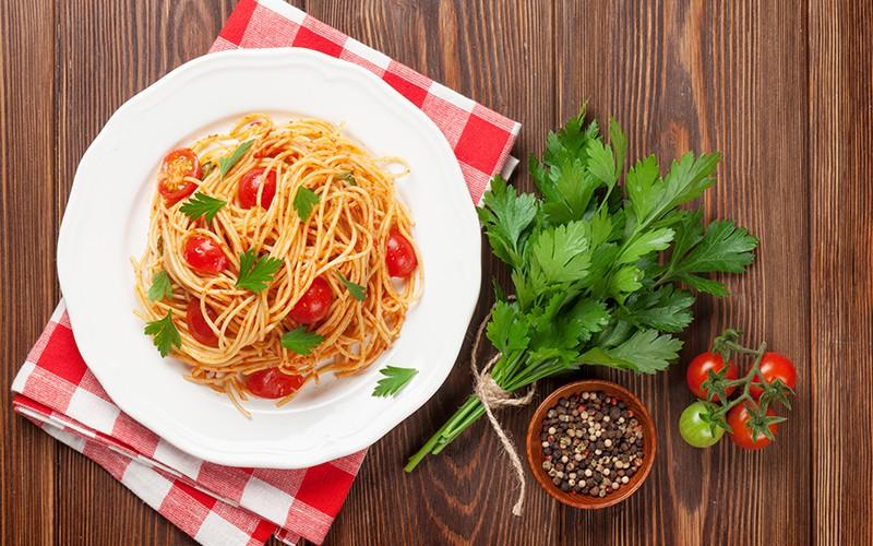 An Extra-Special Spaghetti Pomodoro