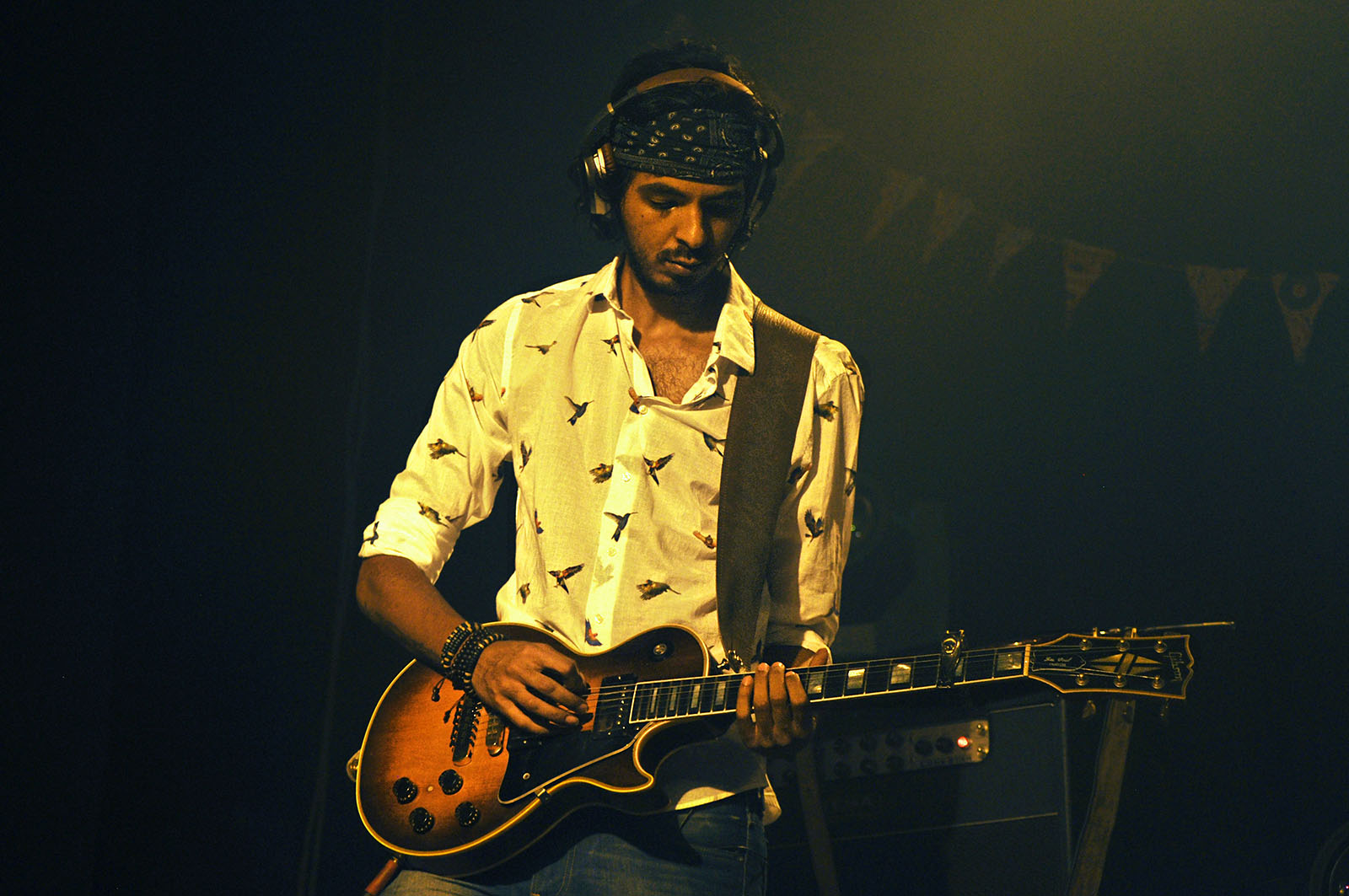 "Cairokee's guitarist, Sherif el Hawary hushes all rumors: ""I am not a spaced out-drug addict, I just listen more than I talk"""