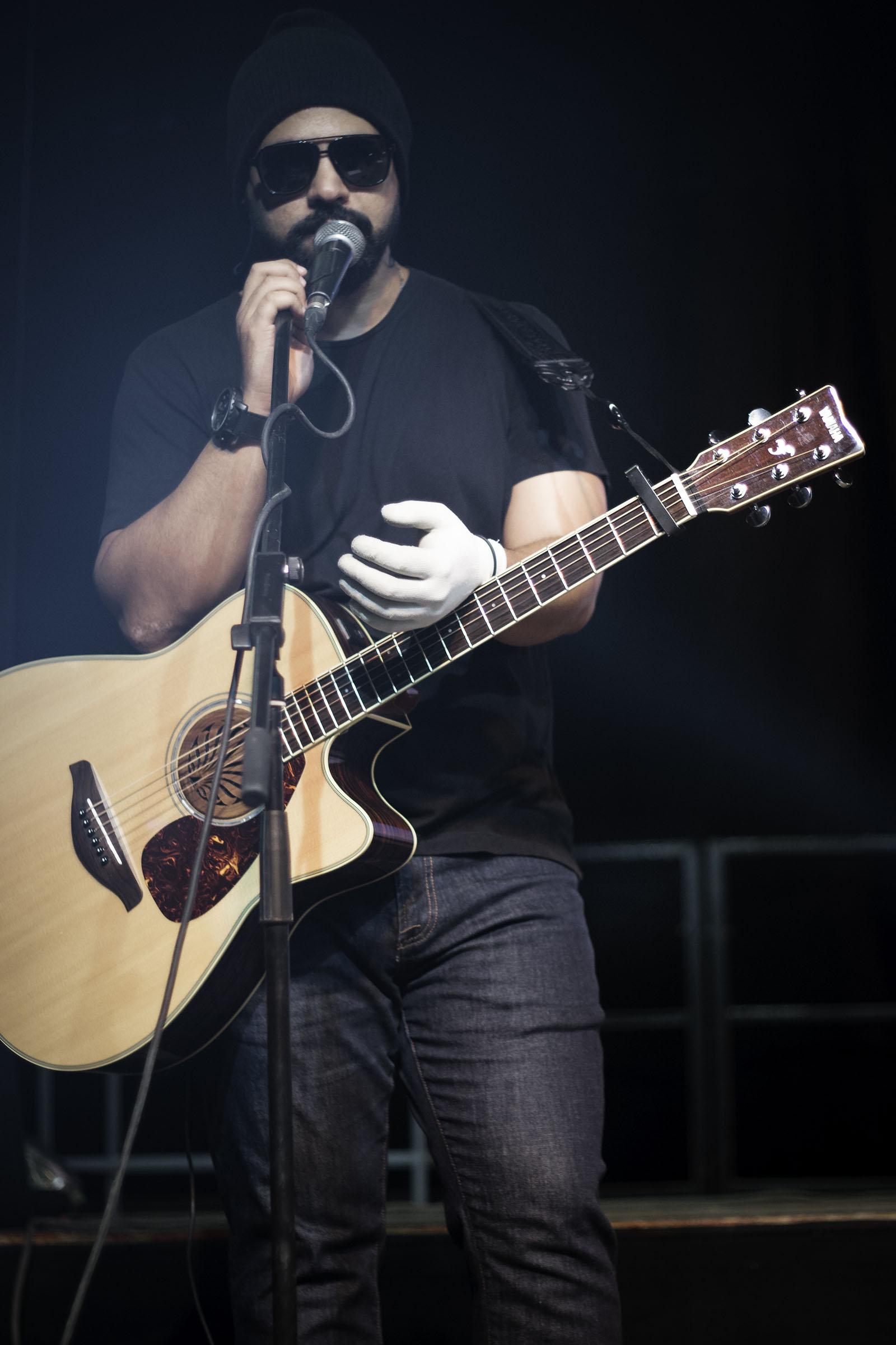 Guitarist Wael Nasr - Credit: Jermeen Nasr
