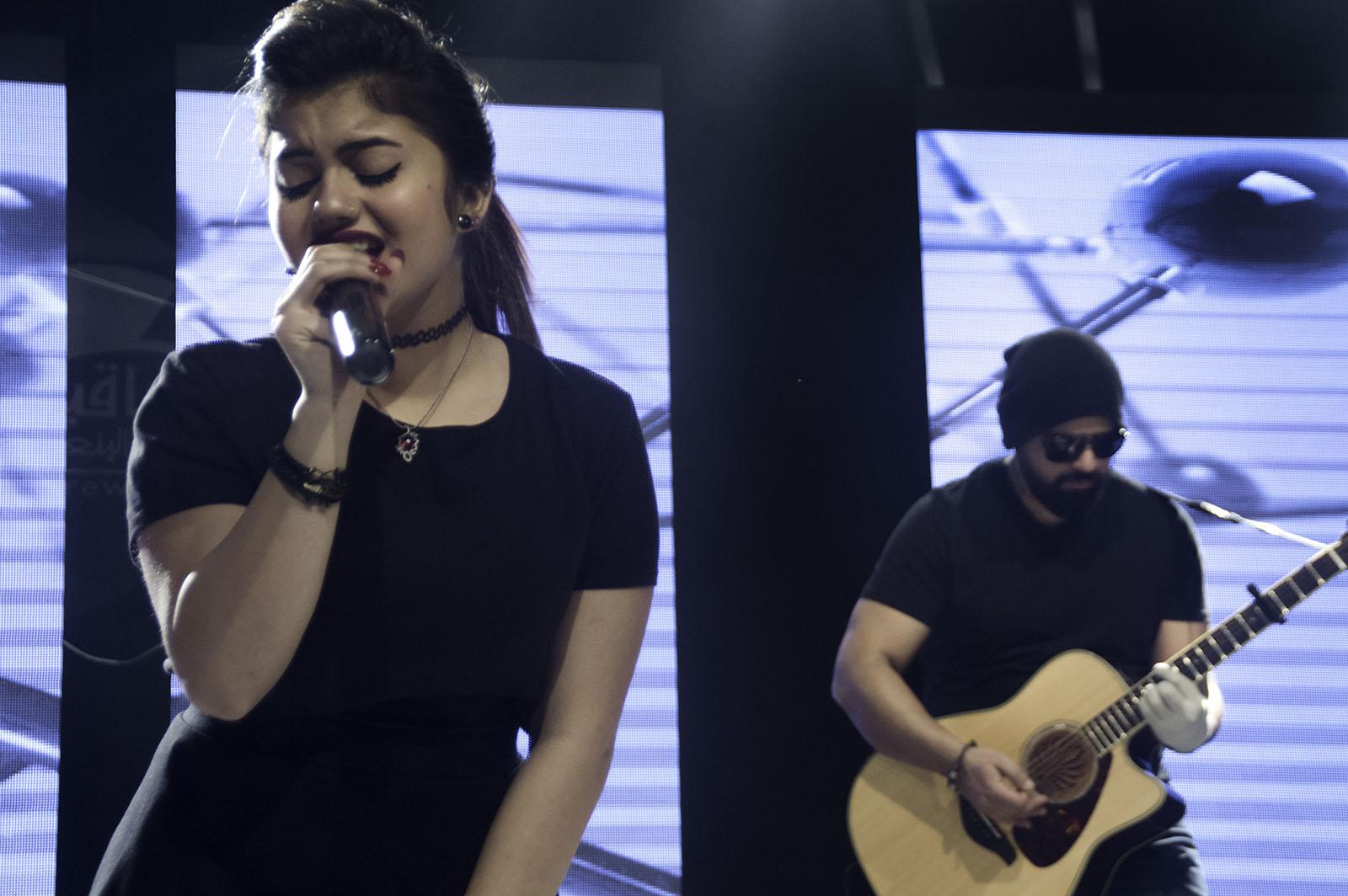 Vocalist Zeina ElShazly and Guitarist Wael Nasr - Credit: Wael Nasr, Khaled Khairy