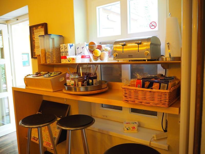 Breakfast Bar at EastSeven Berlin Hostel. Credit: HostelWorld