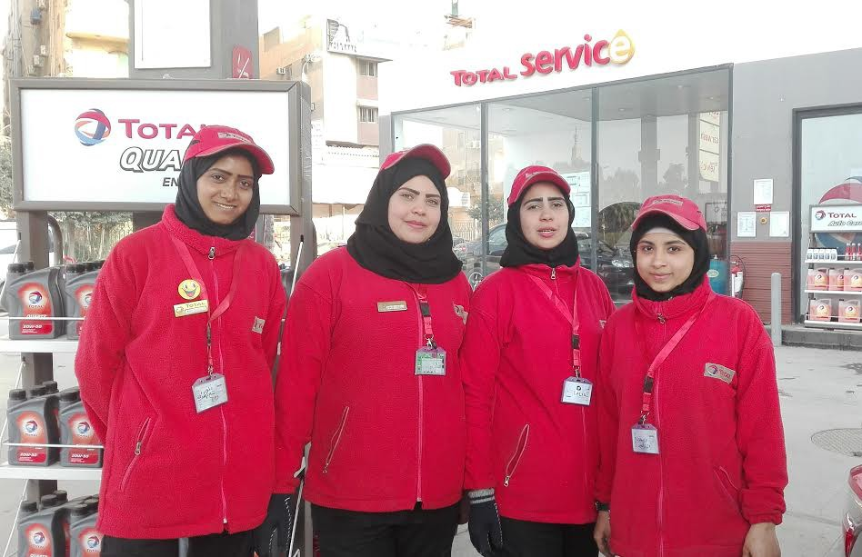 Female Gas Station Attendants: There is no job women aren't tough enough for!
