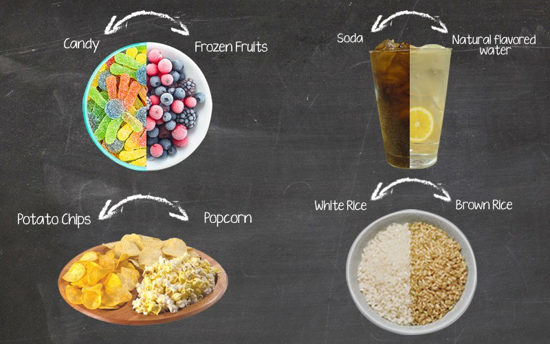Food swaps: Eating healthy without the hassle