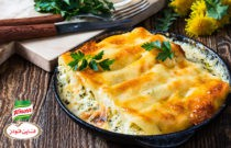 Our Favorite Creamy Cheese Cannelloni with  Spinach Filling