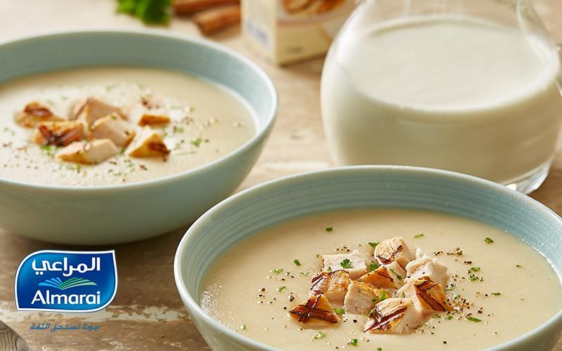 Belly-warming Creamy  Chicken Soup
