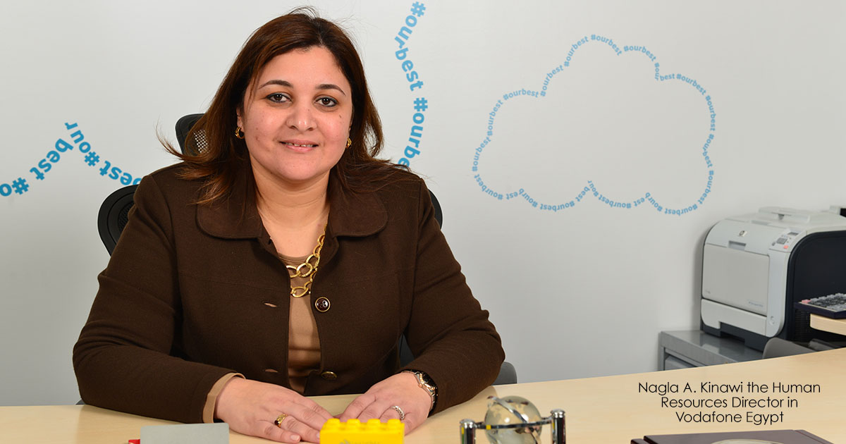 Nagla A. Kinawi the Human Resources Director in Vodafone Egypt (2)