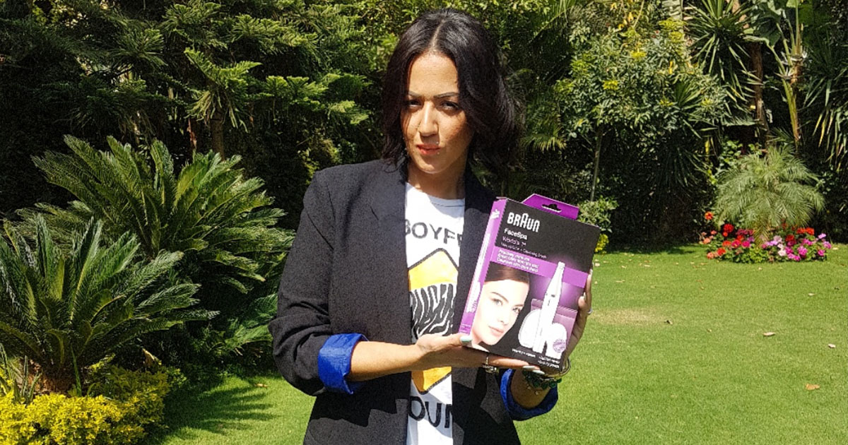 Makeup Guru Yasmine Ebeid Reviews Braun's New Face Epilator and Cleansing Brush - What Women Want